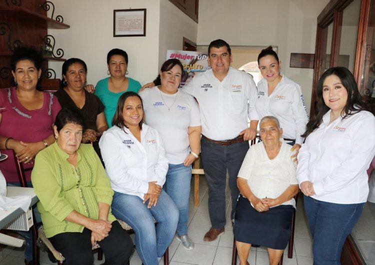 Más derechos e igualdad para las mujeres calvillenses es lo que buscará Adán Valdivia