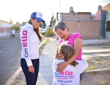 Protección, valores y educación para niñas y niños entre las principales propuestas de Tere Jiménez