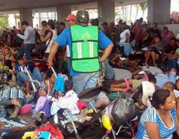 Listos albergues en Puebla para alojar a 2 mil migrantes