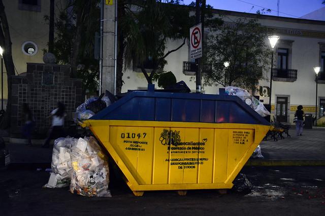 Suman 136 toneladas de basura en los primeros días de la FNSM2019