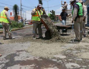 Licitan 25 millones para arreglar baches en Pachuca