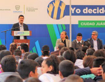 Presenta Corral estrategia para combatir deserción escolar