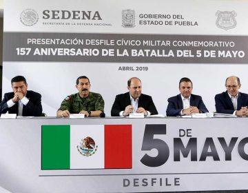 Presentan desfile del 5 de Mayo