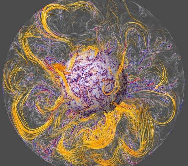 Científicos resuelven el misterio de las sacudidas en el campo magnético de la Tierra