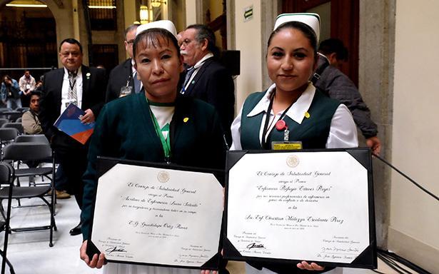 Rarámuri recibe Premio Nacional de Enfermería