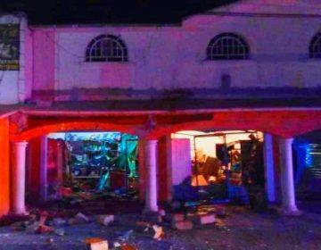 Detonan artefacto explosivo en una tienda de El Arenal