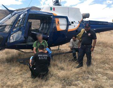 Trasladan en helicóptero a persona de 70 años quien sufrió un pre infarto