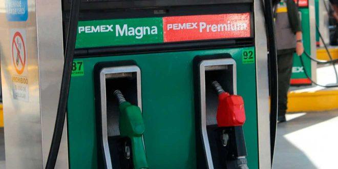 Aplican estímulo de 1.62 pesos a gasolina Magna