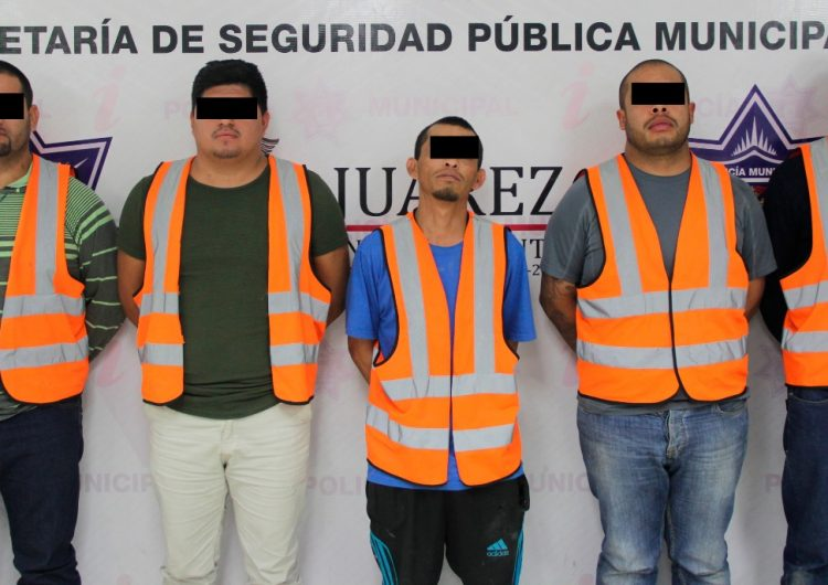 "Arrestan a migrantes y ""Mexicles"" con metanfetaminas"