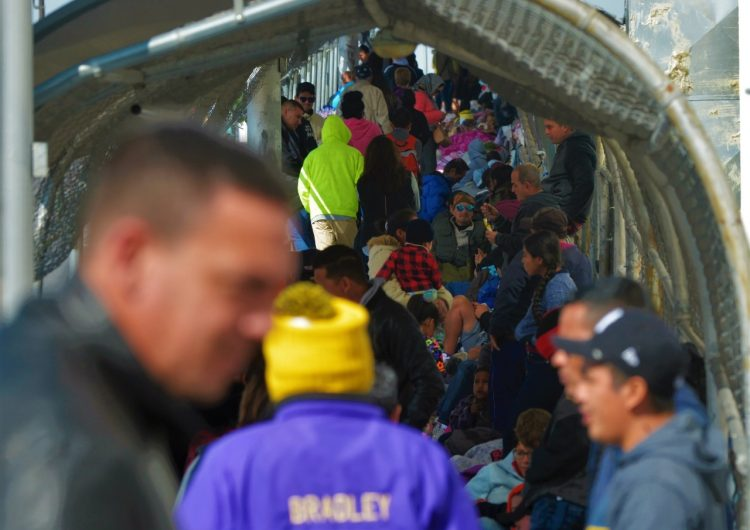 'No más visas humanitarias'