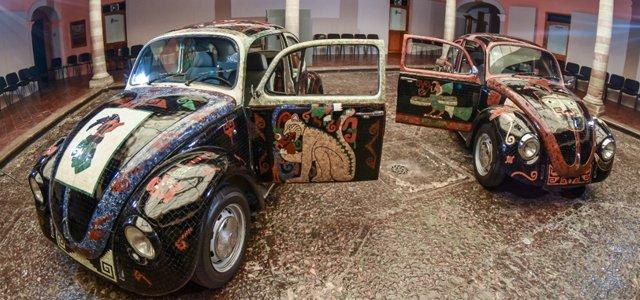 Llegan a Guanajuato los vochos prehispánicos que buscan el Récord Guinness