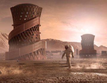 ¿Cómo sería vivir en Marte? La NASA presenta diseños de casas para humanos
