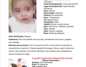 Activa FEM Operativo Alba por madre e hijo desaparecidos
