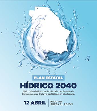 Expondrán Plan Hídrico 2040 el viernes en El Rejón
