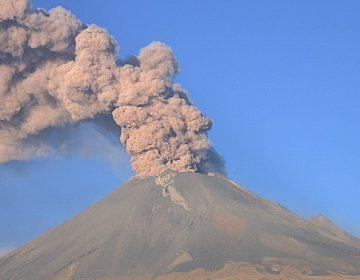 Semáforo de alerta volcánica del Popocatépetl se mantiene en Amarillo Fase 3