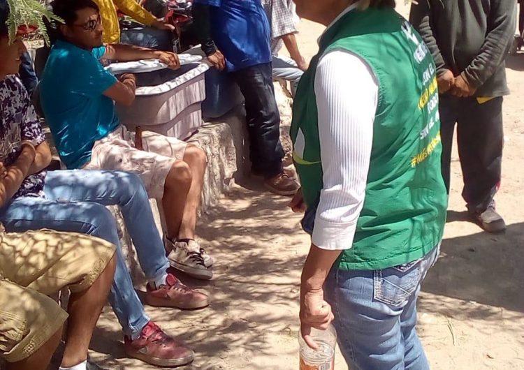 Agua, Baches, Calles, Deportes y Ecosistema, son las prioridades de la candidata Martha Morales