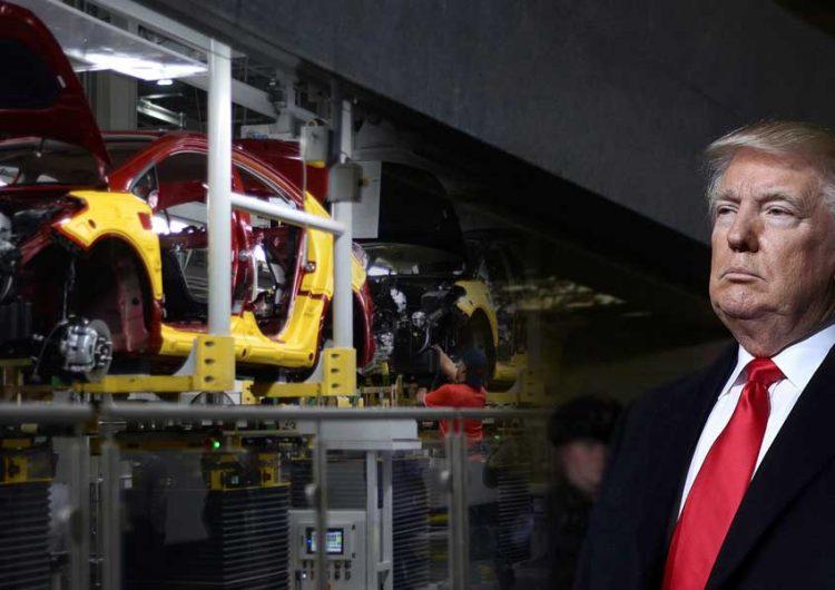Si Trump impone aranceles a industria automotriz mexicana caerán ventas