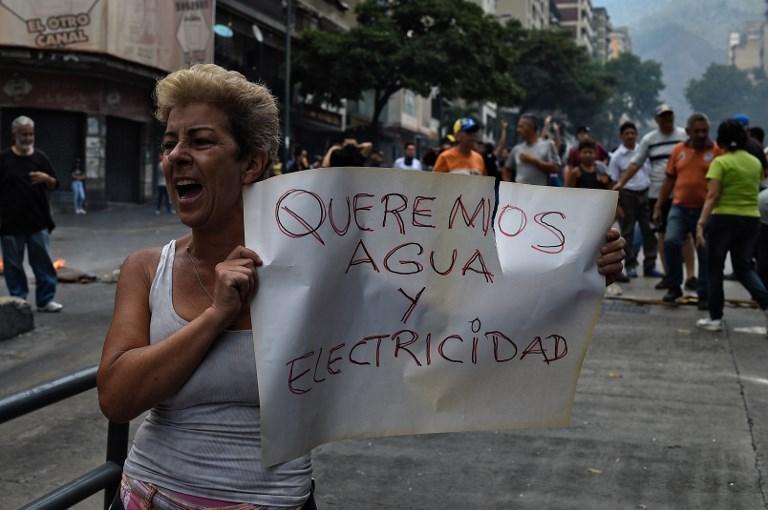 venezuela agua electricidad