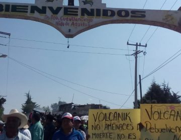 Volcanic Park, centro pro-ambiental, roba agua a comunidades de Ciudad Serdán