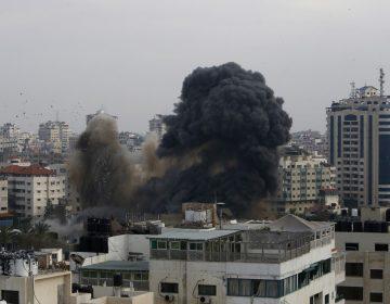 Bombardeos en Gaza dejan doce palestinos y tres irsaelíes muertos