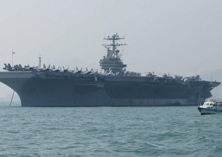 """EU envía un portaaviones a Medio Oriente por """"amenaza"""" de Irán"""