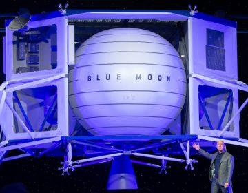 """El jefe de Amazon presenta """"Blue Moon"""", una vehículo de transporte a la Luna"""