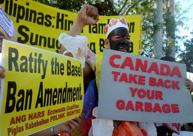 Presidente de Filipinas ordena regresar a Canadá la basura que arrojó a su territorio hace años