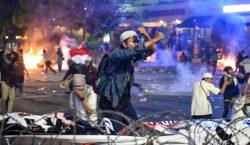 Disturbios en Indonesia: reportan a 200 heridos luego de elecciones…