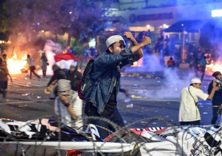 Disturbios en Indonesia: reportan a  200 heridos luego de elecciones presidenciales