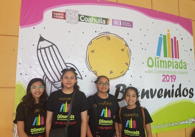 Los mejores estudiantes de Coahuila participan en la Olimpiada del Conocimiento Infantil 2019