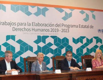 Presentan nuevo programa de derechos humanos para Coahuila