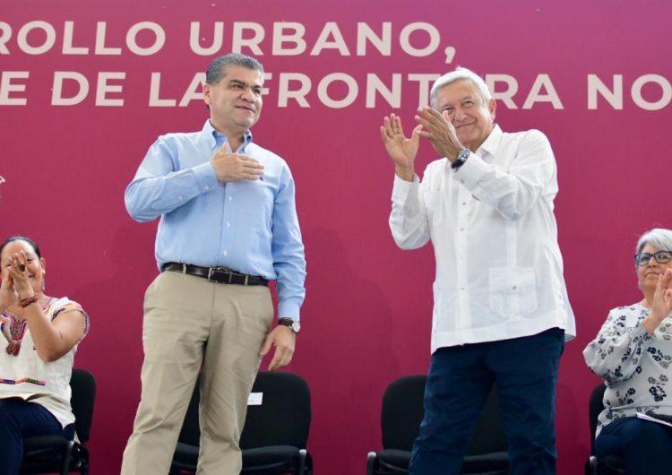 Historia, migración y abucheos: el paso de AMLO por Coahuila