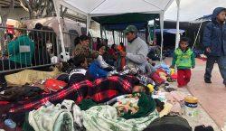 La espera de los migrantes en Tijuana, la ciudad más…