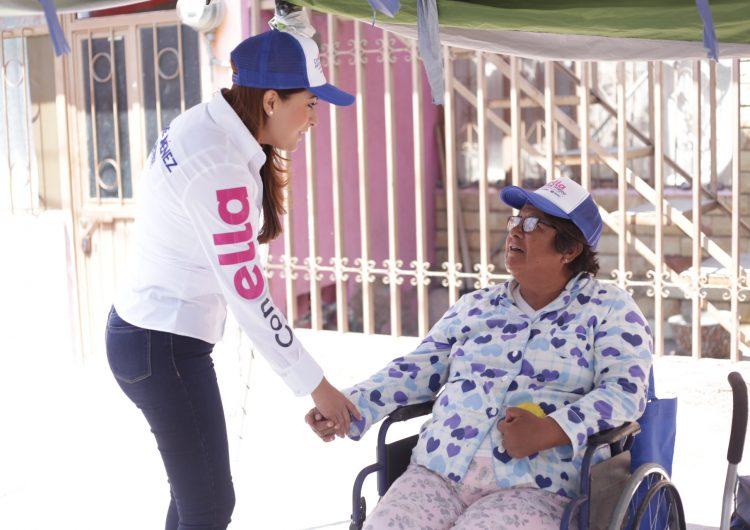Mejor movilidad y capacitación laboral para personas con discapacidad es la propuesta de Tere Jiménez