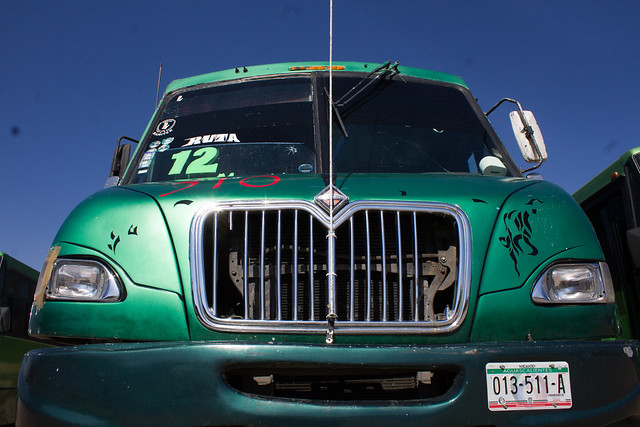 Circulan en Aguascalientes camiones urbanos modelo… 1997