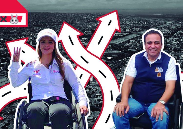 Campaña sobre ruedas en Baja California, la Inclusión en el ejercicio político