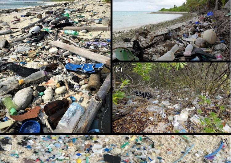 Islas apartadas y casi deshabitadas se ahogan entre basura plástica