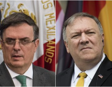 Ebrard y Pompeo discutirán la imposición de aranceles a México el próximo miércoles
