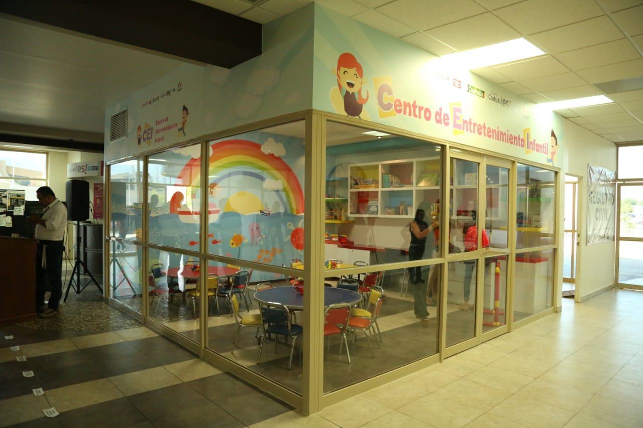 6139c1df6e6 Inauguran Centro de Entretenimiento Infantil para la atención de los niños  saltillenses