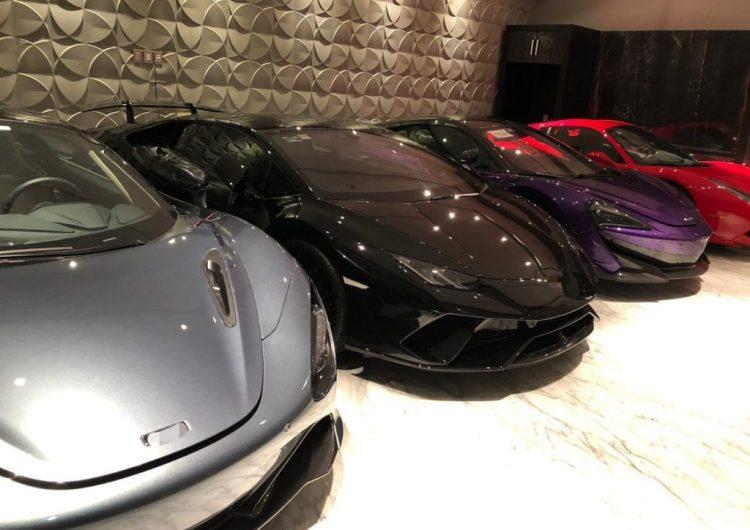 FGR asegura 27 autos de lujo, armas, drogas y cajas fuertes en León