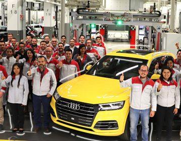 Audi Puebla fabrica el primer auto híbrido Premium de México