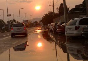 Sensación térmica alcanza los 47 grados en Cuenca de Oaxaca