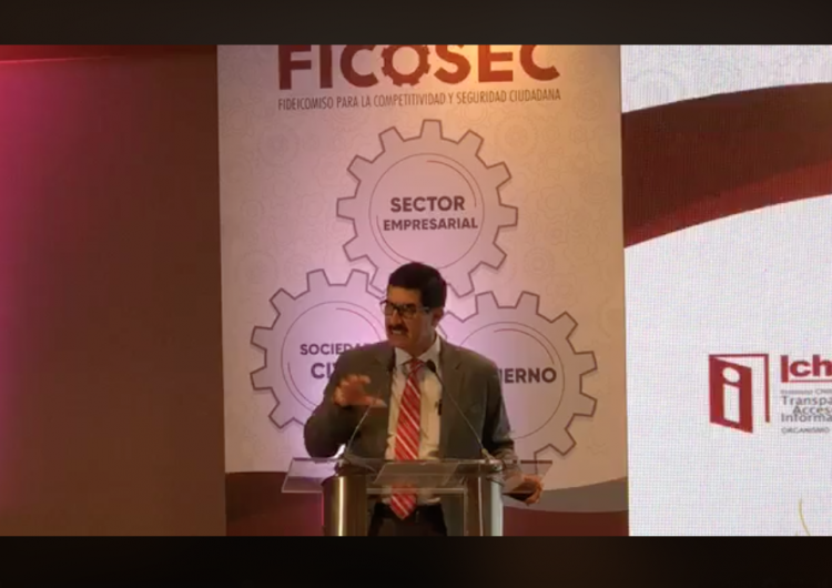 Destaca Corral labor de Ficosec al construir estado sólido en seguridad