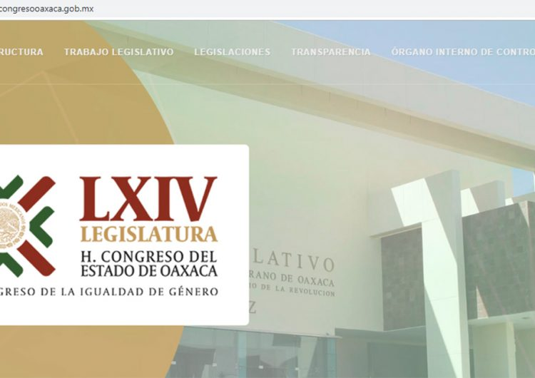 Cambia Jucopo identidad gráfica del Congreso de Oaxaca