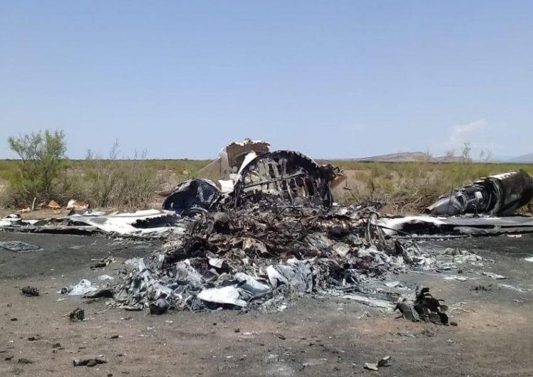 Terminan los trabajos de rescate del avión siniestrado en Coahuila