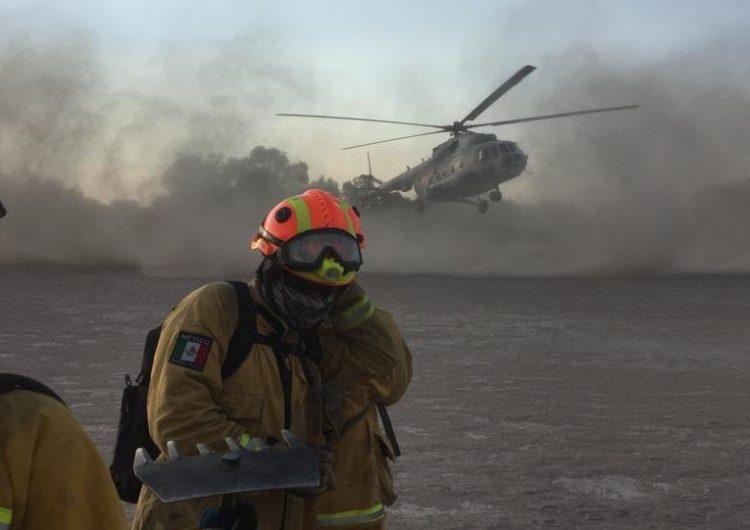 Piden a AMLO reasignación presupuestal para incendios forestales