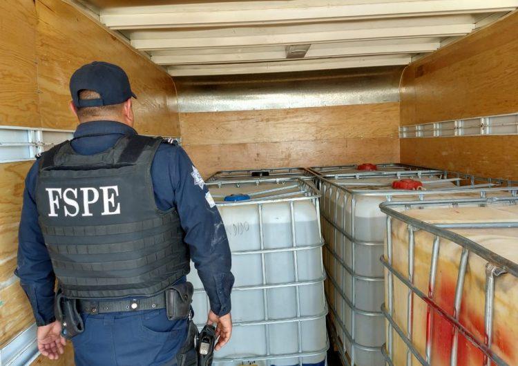 Aseguran 3,500 litros de combustible ilegal en Salamanca
