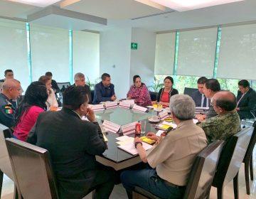 Titular de la SSPEG se reúne con autoridades federales para la seguridad