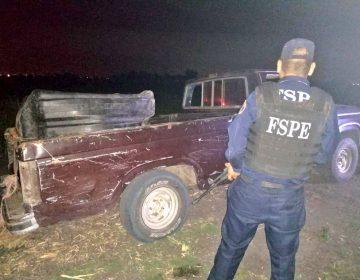 Hallan camioneta con 1,000 litros de combustible robado en Salamanca