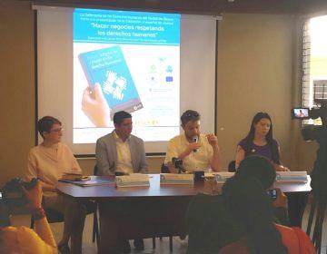 Transitar de las empresas socialmente responsables, a los negocios con respeto a los derechos humanos